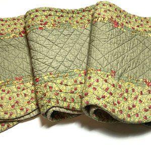 JC Penney Rare Set 3 Scalloped Curtains Valances